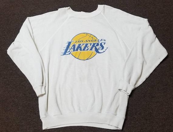 Used 80s large LA Lakers sweatshirt LA lakers crew