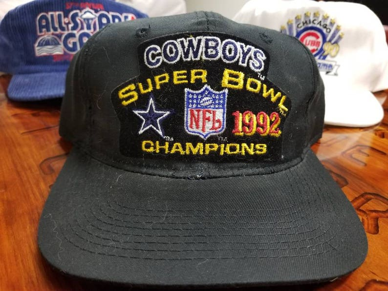 a3663d8e470 1992 super bowl snapback Dallas cowboys youngan hat90s nfl