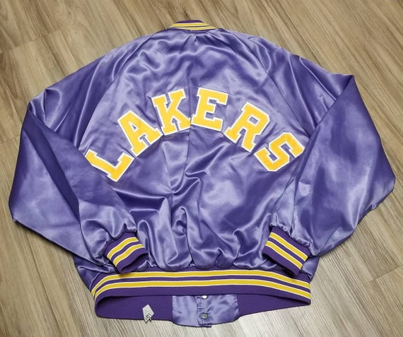 Xl los Angeles Lakers jacket,LA Lakers satin jaket