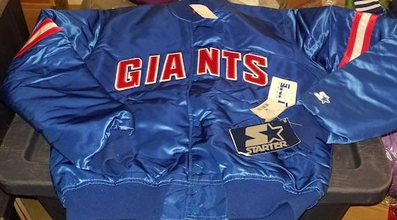 New original 90s MEDIUM New York Giants starter ja