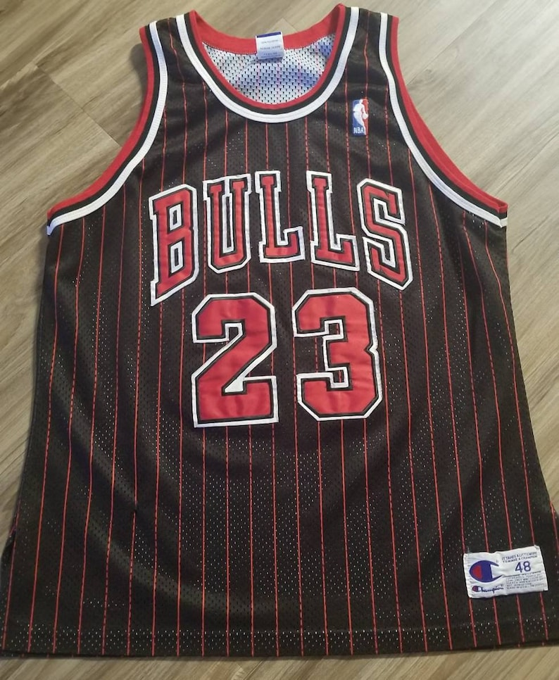 huge discount 820c3 8e876 90s Michael jordan Chicago bulls champion jersey size 48 authentic bulls  jersey