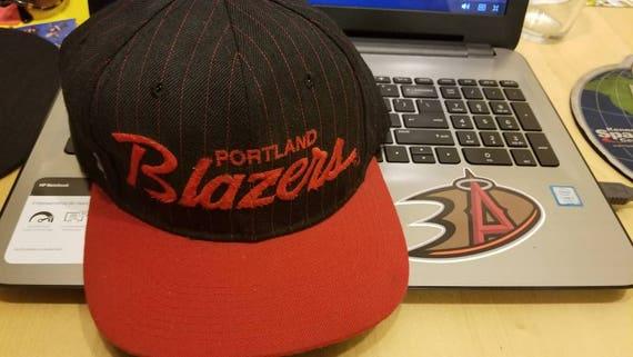 90s Portland trailblazers sports specialties hat s