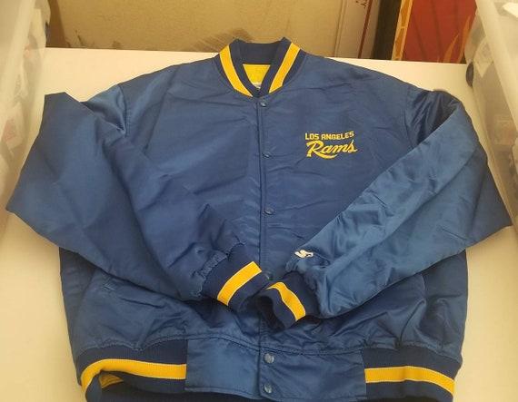True 2XL Rams starter jacket,90s, vintage starter