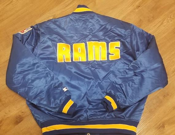 Large LA rams starter jacket,90s, vintage starter