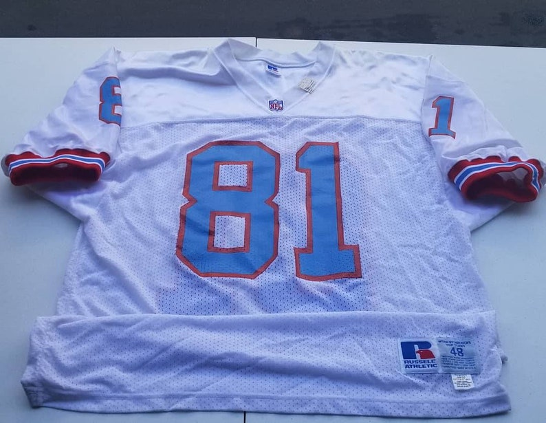 84147a9f4 New original 1991 Houston Oilers jersey size 48 XL russell