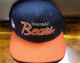Deadstock 90s Chicago bears sports specialties hat fitted 7 1/4