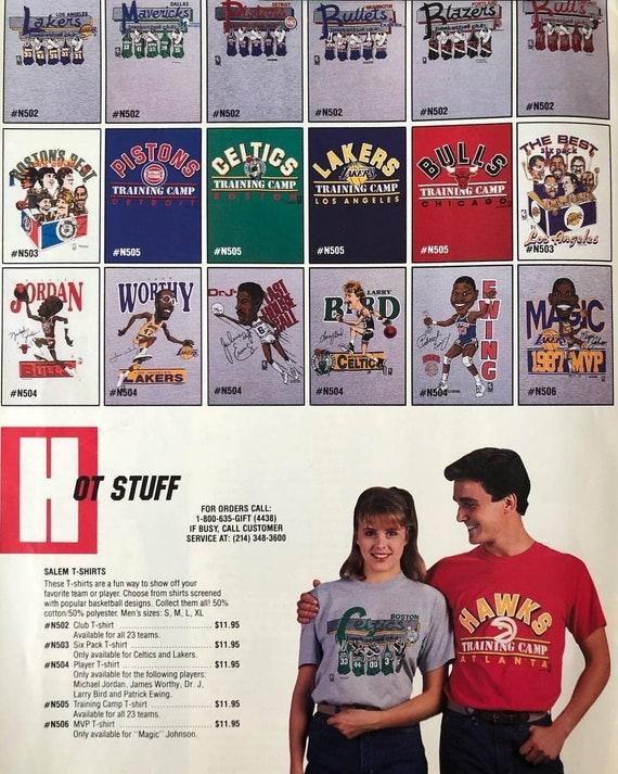 1987 Large vintage Boston Celtics shirt, 80s celt… - image 2