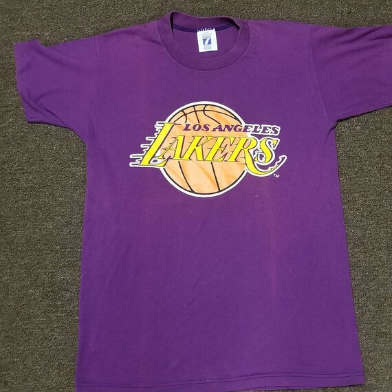New original 80s 90s SmaLl LA Lakers shirt LA lake