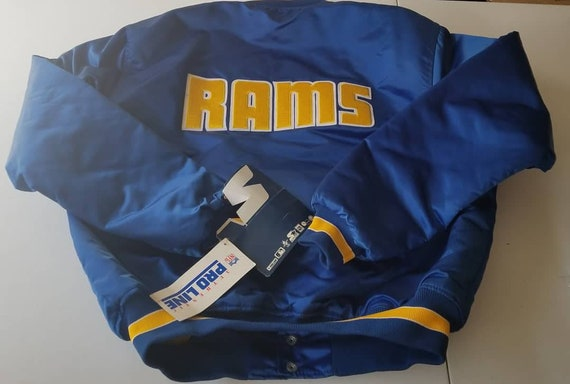 NEW original XL Rams starter jacket,90s, vintage s