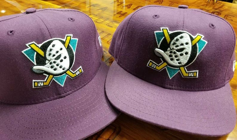 the latest 8860c ddf18 90s anaheim mighty ducks sports specialties hat snapback nhl   Etsy