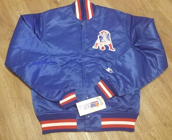 super popular 2787c 942c3 New NWT Men's SMALL vintage new england patriots Starter Jacket vintage  jacket 80s nfl jacket
