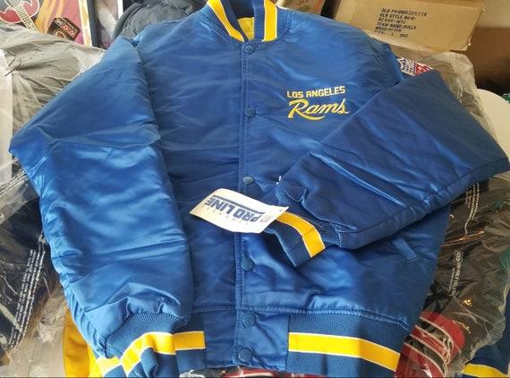 NEW MEDIUM  Rams starter jacket,90s, vintage start