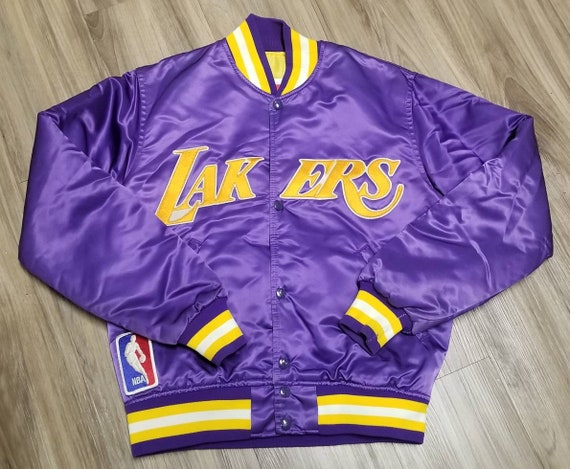 Size Small Lakers starter jacket,lakers jacket, 90