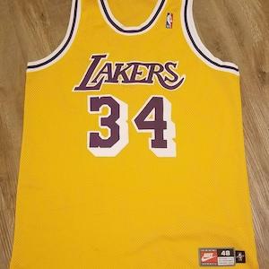 1997-98 Nick van exel jersey nike jerseylakers jersey Nike | Etsy