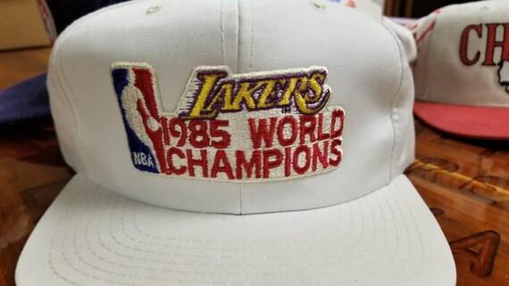 80s LA lakers snapback hatvtg hat vintage hatvintage nba  6116714df