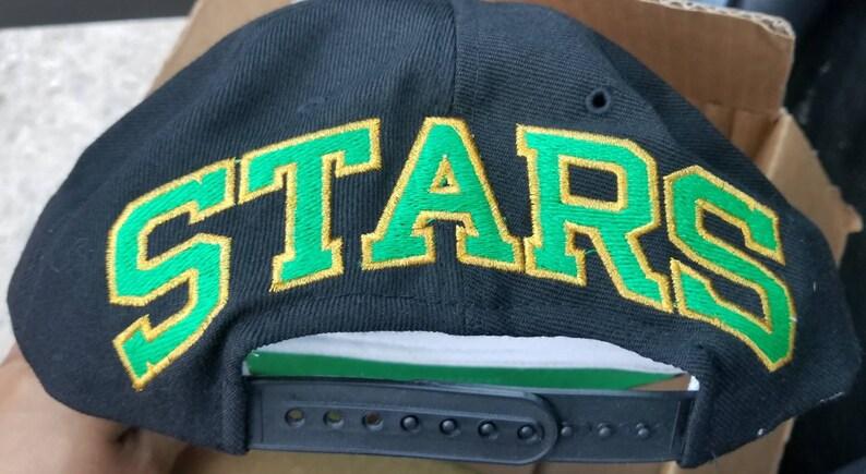 2e9142834d8 New 90s Dallas Stars snapback hat American needle blockhead