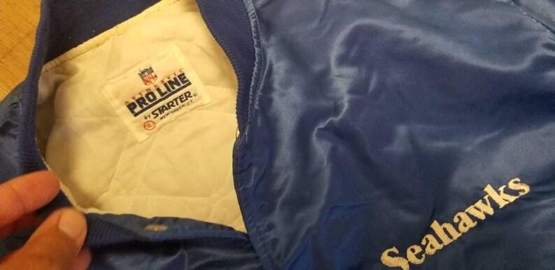 90s Size XL Seattle Seahawks starter jacket proline original