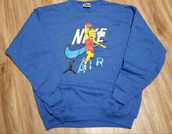 New original (L) 90s chicago bulls sweatshirt,90s