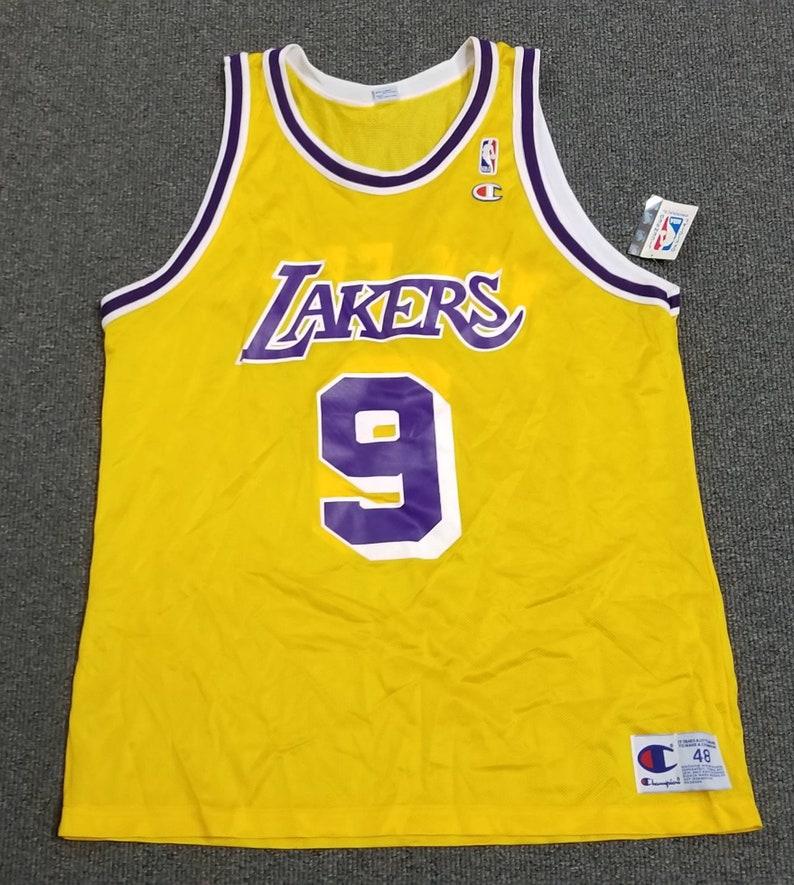 new concept 243a8 fdad9 Nick van exel jersey,champion jersey lakers jersey, NWT, NEW jersey size  48, Lakers jersey, LA lakers jersey