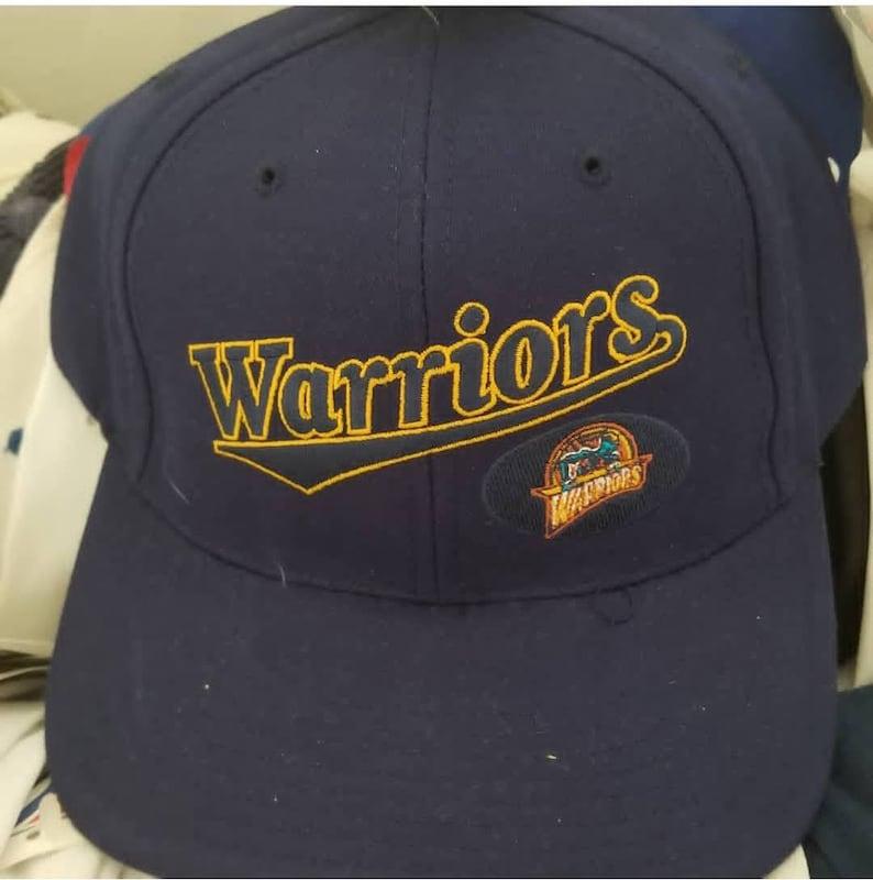New 90s vintage golden State warriors snapback hat NBA finals  8fdbef0912c