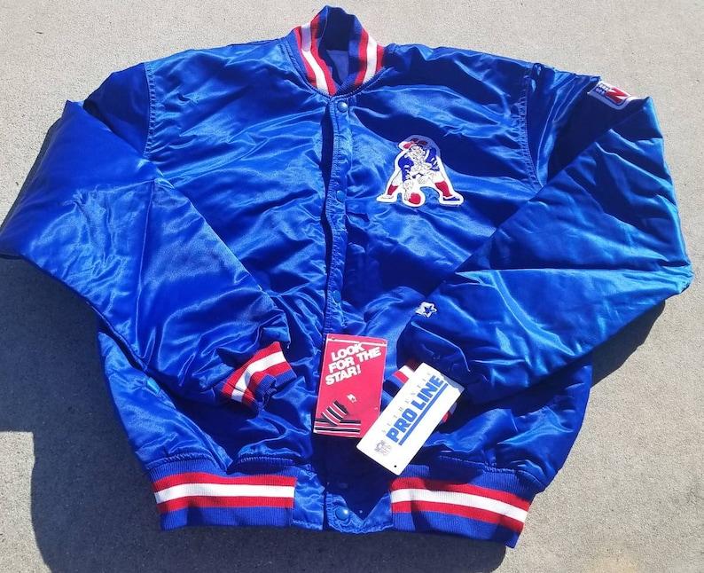 official photos 40843 40ce0 New NWT XL vintage new england patriots Starter Jacket vintage jacket 80s  nfl jacket