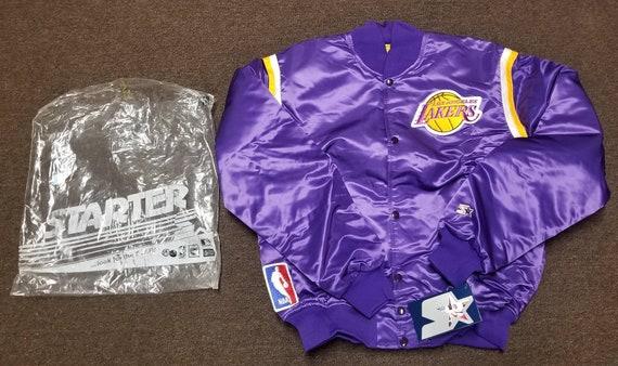 New NWT size LARGE Lakers starter jacket,la lakers