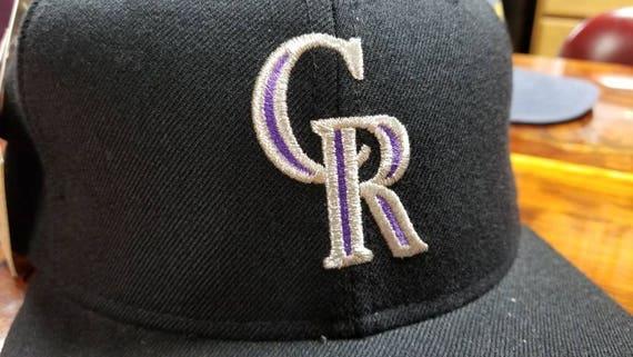 4409259beeb New 90s Colorado Rockies hat size 7 3 4 rockies hat vintage