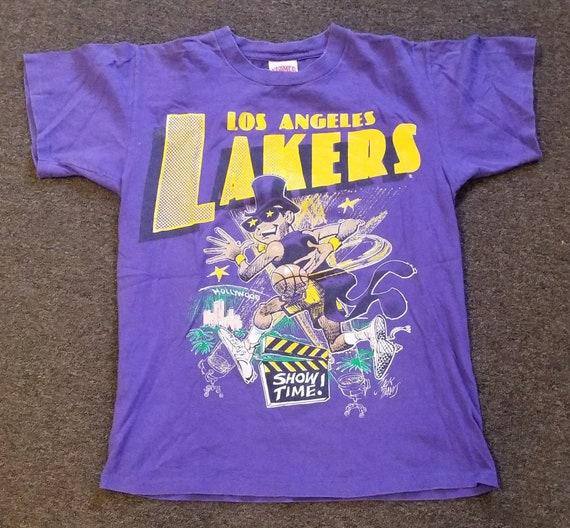 Original small-medium 1988 LA Lakers shirt; 90s la