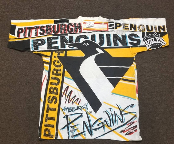 New original 90s Pittsburgh penguins shirt magic J