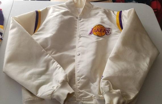 XL Lakers starter jacket,lakers jacket, 90s jacket