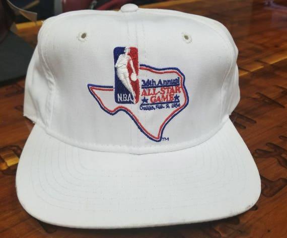 ab9e0f9fab0 1986 nba all star game hatvtg hat vintage hat Larry