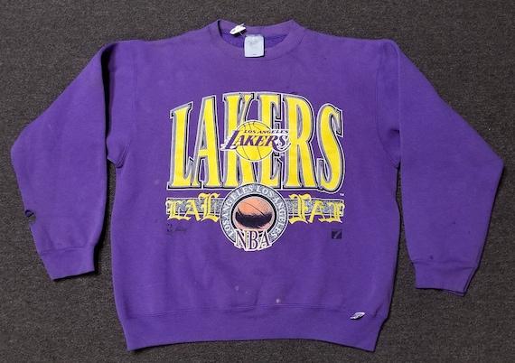 Used 90s large LA Lakers sweatshirt LA lakers crew