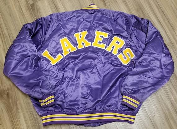 2Xl los Angeles Lakers jacket,LA Lakers satin jake