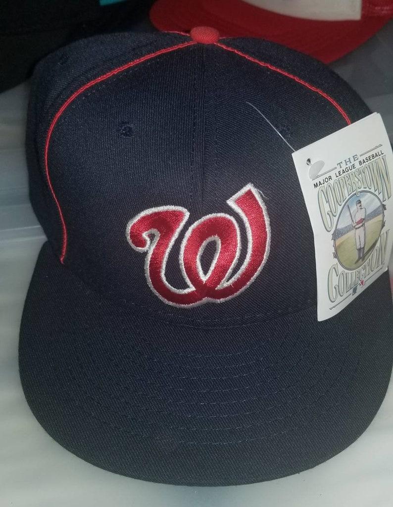 40711f3e5 1963-1967 Washington Senators hat cooperstown hat 7 1/2 new vintage 80s 90s  American needle hat