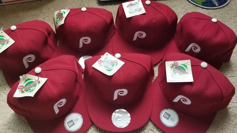 59b8952b69d New 90s vintage Philadelphia Phillies era fitted hat size 7