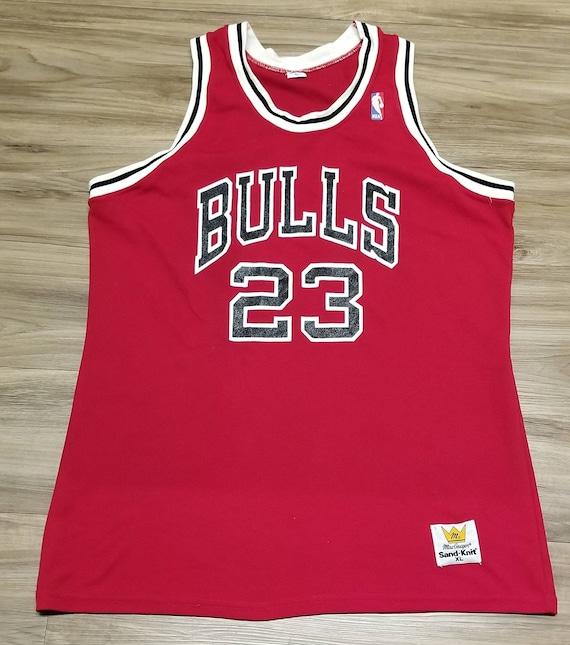 Large 1986-1989 Michael Jordan jersey, chicago bul