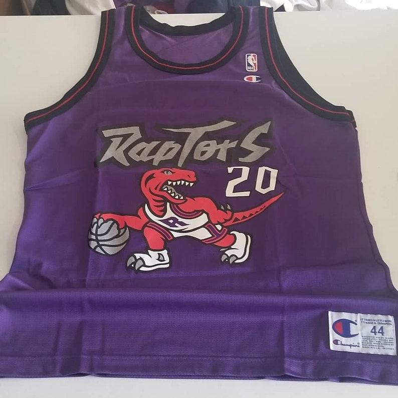 sports shoes ff21d a2ed5 Original 1995-1997 Damon stoudamire Toronto Raptors Jersey Raptors champion  jersey size 48/ XL