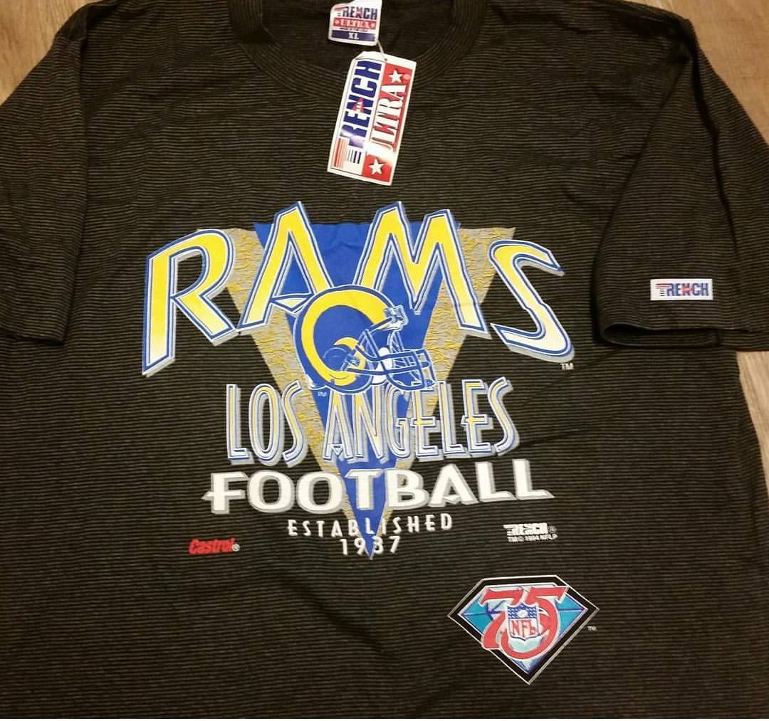 dad98803f01 Los Angeles Rams Vintage T Shirts | Top Mode Depot