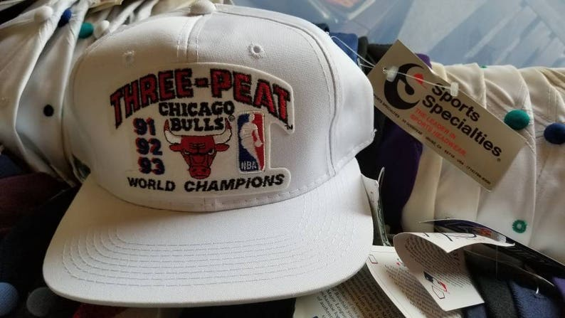 eb316cf5c00 Chicago bulls sports specialties hat snapbacksNWT deadstock