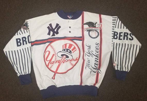 Size XL new york Yankees starter jacket, 90s vinta