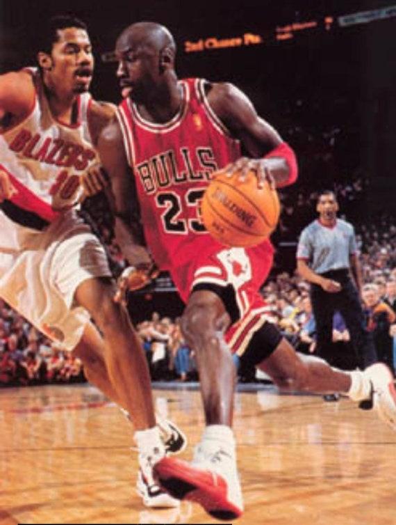 1996-1997 NBA 50th Jersey Michael jordan Chicago … - image 10