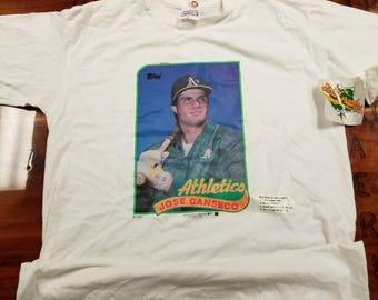 XL new vintage new york yankees shirt,Mickey Mantle shirt,NWT, NOS, topps baseball cards, 80s, 90s