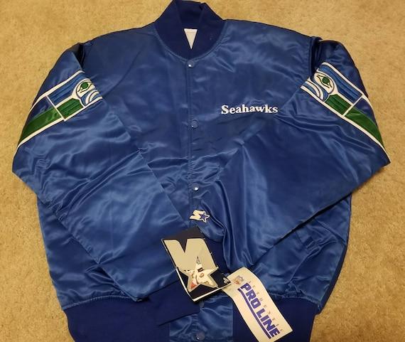 NEW NWT 90s Size medium Seattle Seahawks starter j