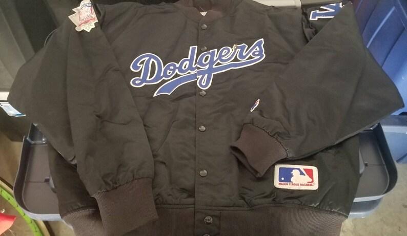 felco dodgers jacket vtg FLAW vintage jacket,felco jacket los angeles dodgers 80s Size XL LA Dodgers starter jacket 90s