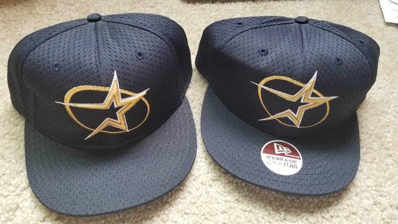 b235f6b86d2 1997 Houston astros hat 90s new era fitted size 7 7 8 hat mlb