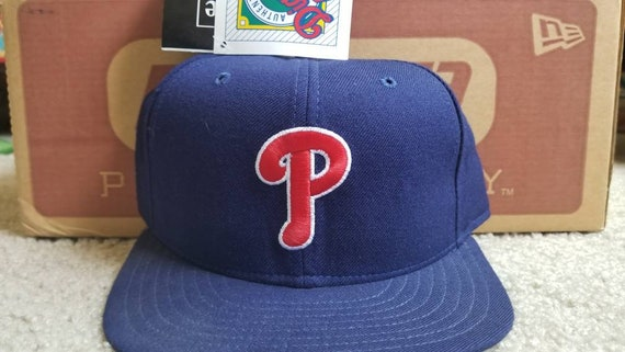 36bab4a09a5 New 90s vintage Philadelphia Phillies era fitted hat size 7