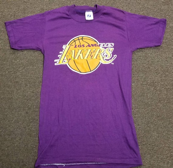 New original 80s 90s x-small LA Lakers shirt LA la