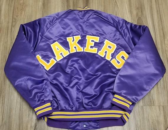 Los Angeles Lakers jacket,LA Lakers satin jaket,LA