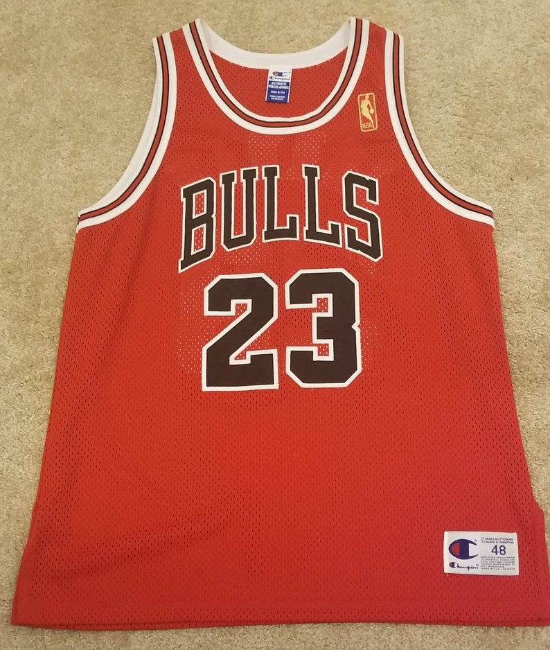 newest 4cc6e 4259c 1996-1997 NBA 50th Jersey Michael jordan Chicago bulls champion authentic  jersey size 48 authentic bulls jersey