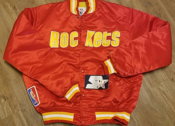 New original Houston rockets starter jacket LARGE